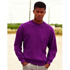 SS27M Fruit of the Loom Set in Sleeve Sweatshirt
